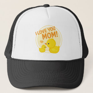 I Love You Mom Trucker Hat