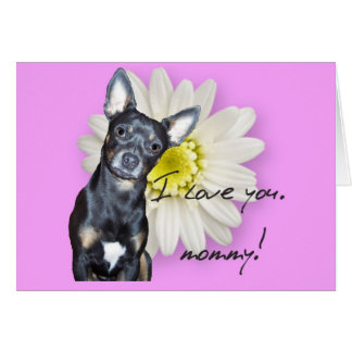 I Love You, Mommy Note Card
