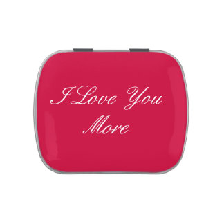 I Love You More Candy Tin