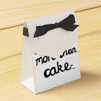 I Love You More Than Cake Favour Boxes Party Favor Boxes