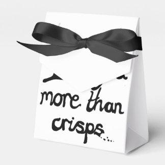 I Love You More Than Crisps Wedding Favour Boxes
