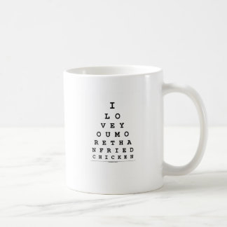 I Love You More Than Fried Chicken Coffee Mug