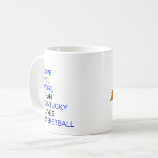 I Love You More Than Kentucky Loves Basketball Coffee Mug