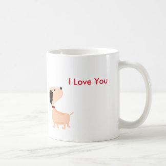 I love You Mug by Mr.Brownie