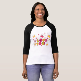 """""""I love you"""" note, best gift ideas T-Shirt"""