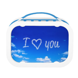 I love you on clouds lunch box