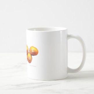 I Love You Onions Coffee Mug