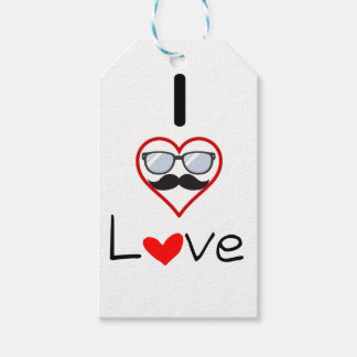 I Love You Pack Of Gift Tags