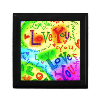 I LOVE YOU Painting Gift Box