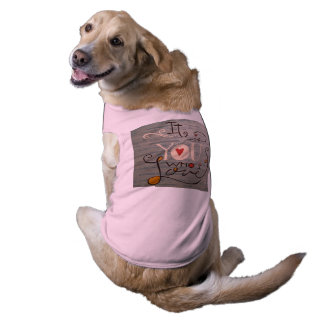 """I Love You"" Pet Clothing"