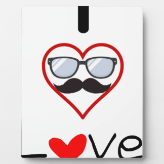 I Love You Plaque
