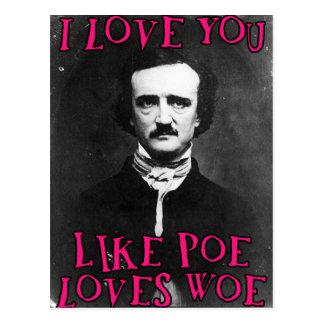I love you... postcard