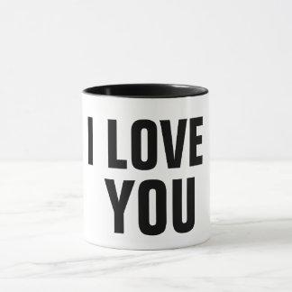 i love you romantic mug coffee mug gift idea