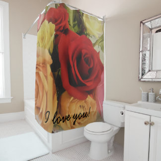 I love you Romantic Roses Print