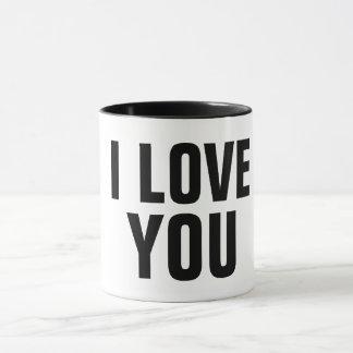 i love you romantic valentine coffee mug gift idea