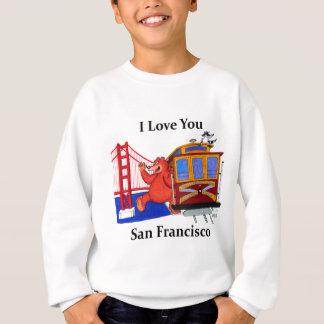I Love You San Francisco Sweatshirt