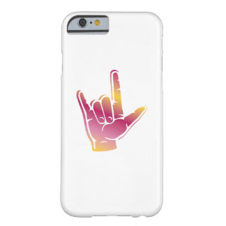 I Love You Sign deaf culture Pride deafness Barely There iPhone 6 Case