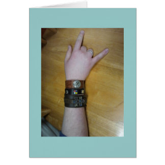 I Love You Signed with Autism Cuffs Card