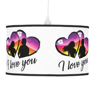 I love you sunset Pendant Lamp