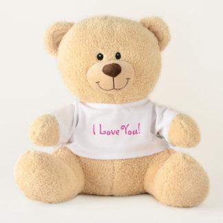 I Love You! Sweet & Cuddly Teddy Bear