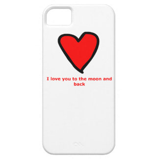 I love you to the moon and back case for the iPhone 5