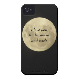 I love you to the moon and back iPhone 4/4s case