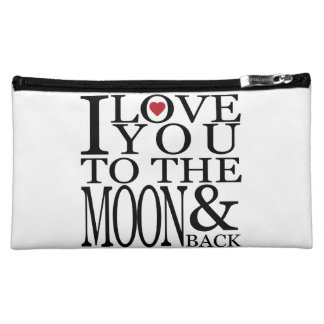 I love you to the moon and back makeup bag