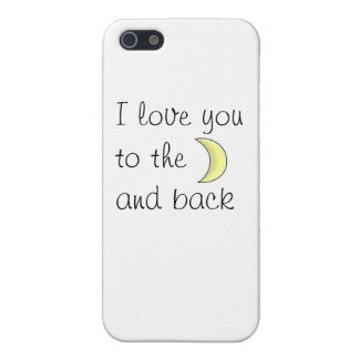 I love you to the moon and back phone marries iPhone 5/5S covers