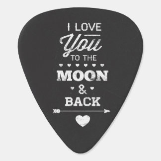 I Love You To The Moon And Back Pick