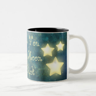 I Love You To The Moon and Back Star Mug