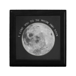 I Love You To The Moon and Back Starry Sky Gift Box
