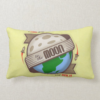 I Love You To The Moon And Back - Throw Pillow