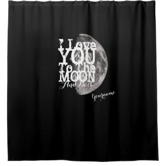 I Love You To The Moon And Back with Your Name