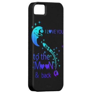 I love you to the moon & back iPhone 5 case
