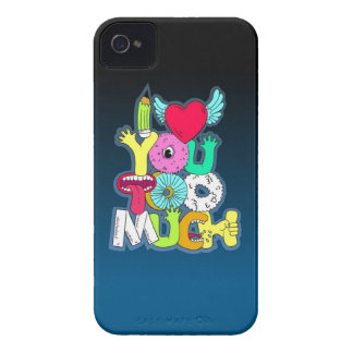 I Love You Too Much iPhone 4 Case
