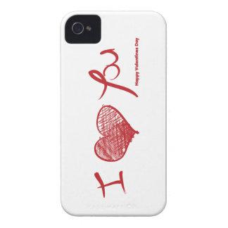 I love you  valentine iPhone 4 Case-Mate cases