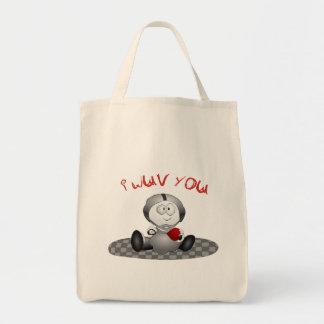 I Love You Valentine Tote Bag