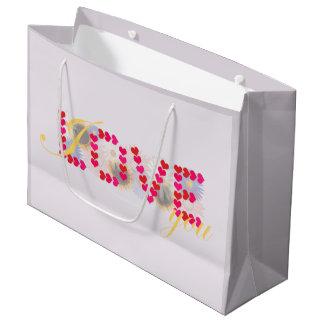 I love you - valentine's day design gift bag