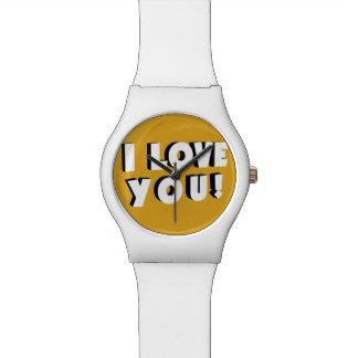 I love you! watch