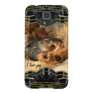 I Love You Yorkie Case For Galaxy S5