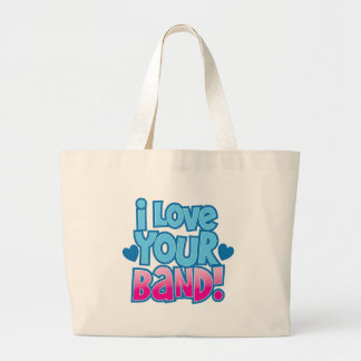 I love your BAND Canvas Bag