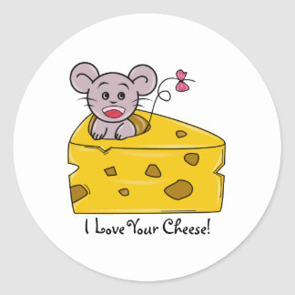 I love your Cheese Stickers