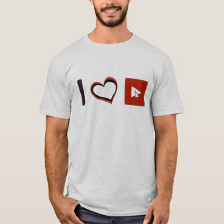 I LOVE YOUTUBE SYMBOLS T-Shirt