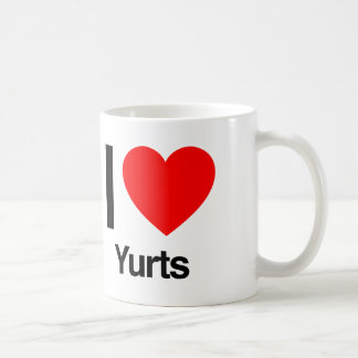 i love yurts coffee mug
