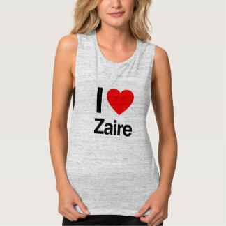 I Love Zaire Tank Top