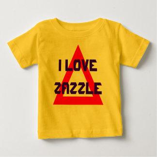 I love Zazzle Baby T-Shirt