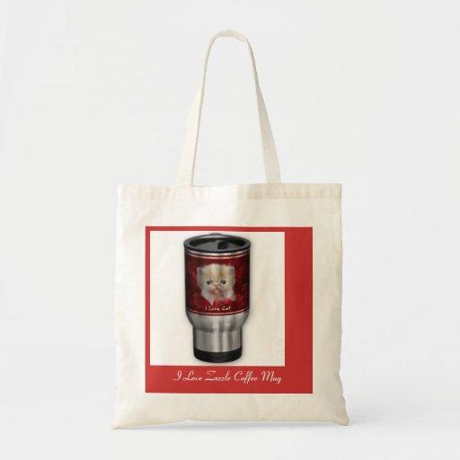 I Love Zazzle Coffee Mug Bag