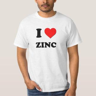 I love Zinc T-Shirt