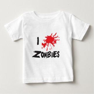I Love Zombie Baby T-Shirt