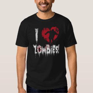 I Love Zombies Tees